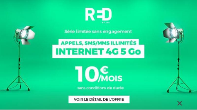 RED by SFR lance une nouvelle offre sur Showroom Privé