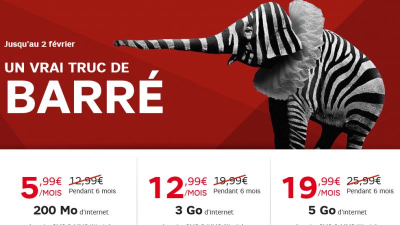 SFR lance (encore) des offres promotionnelles sur ses forfaits RED
