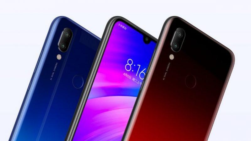 Redmi 7 : smartphone à petit prix avec une grosse batterie