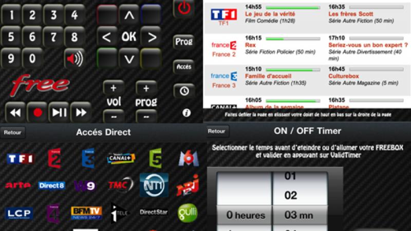 Rem()te pour iPhone : télécommandez votre Freebox et programmez son arrêt