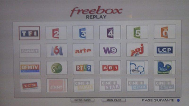 Freebox Replay : les 8 nouvelles chaînes seront activées mardi