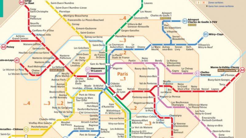 Free Mobile couvre petit à petit le RER A avec son réseau propre