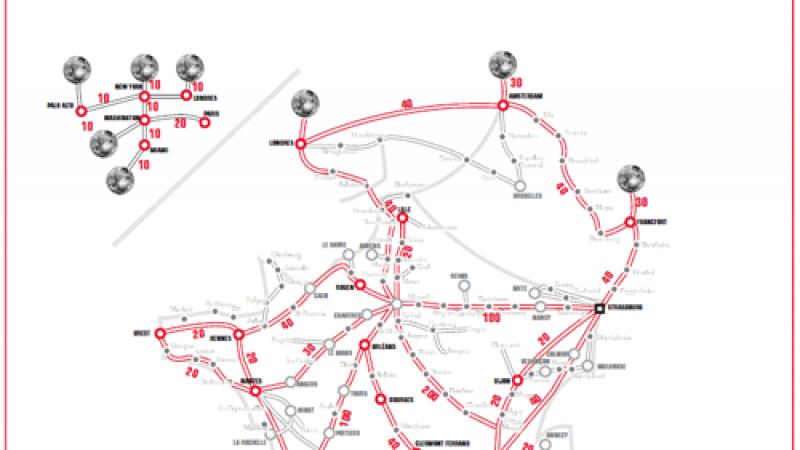 Free : un réseau de près de 58 300 km linéaires de fibre optique
