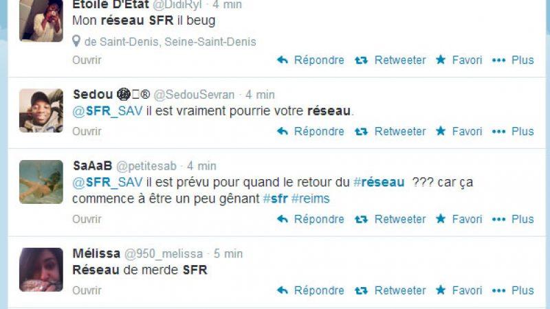Encore une nouvelle panne importante sur le réseau mobile de SFR