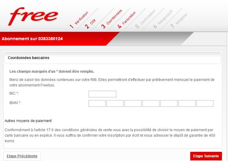 free mobile mandat de pr?l?vement sepa