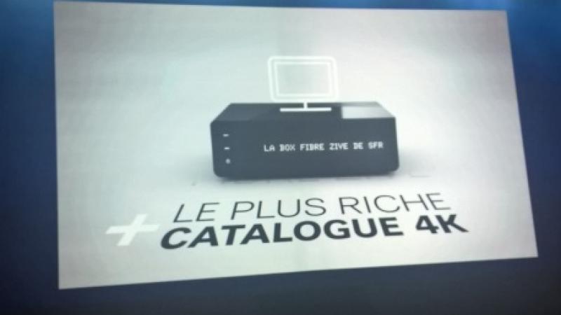 """Clin d'œil : Quand SFR met en avant """"le plus riche catalogue 4K""""… qui compte 6 films"""
