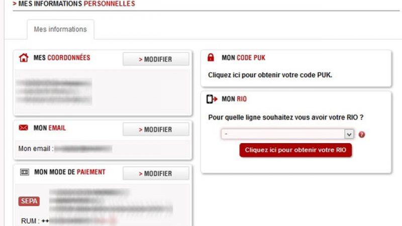 Free mobile facilite l'accès au numéro RIO