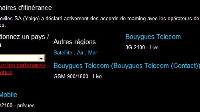 Free Mobile : premiers accords de roaming avec des opérateurs étrangers