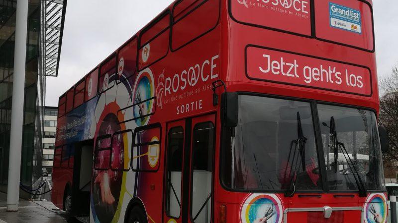 """Le """"Bus de la Fibre"""" de Rosace est prêt à partir sur les routes"""