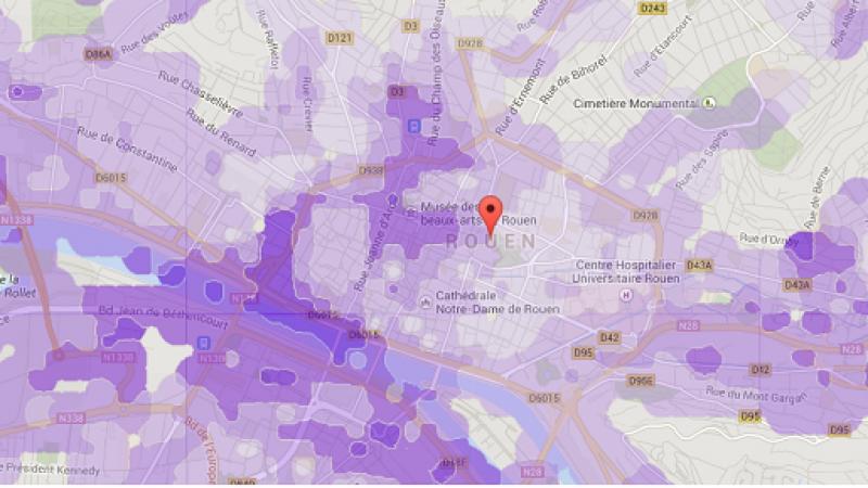 Découvrez la couverture et les débits Free Mobile dans 10 nouvelles villes