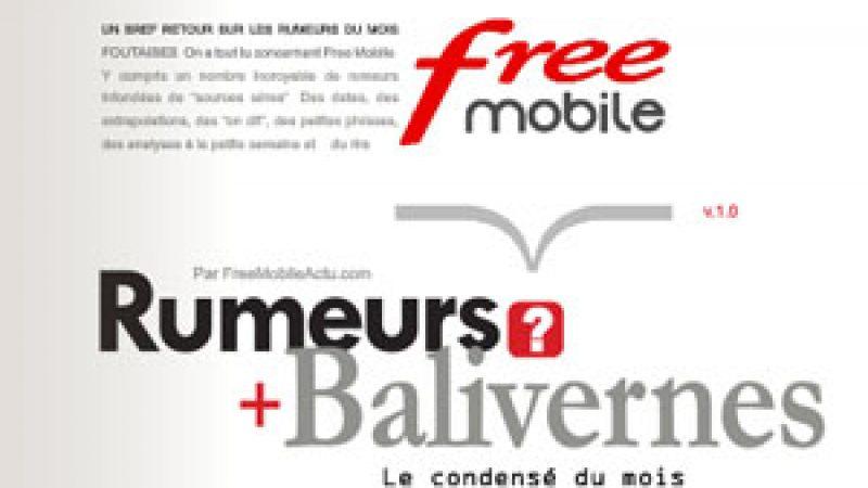 Rumeurs et Balivernes : le condensé satirique sur Free Mobile