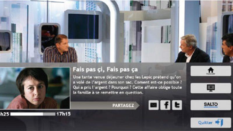 France TV lance la fonction « Salto » permettant de reprendre un programme au début