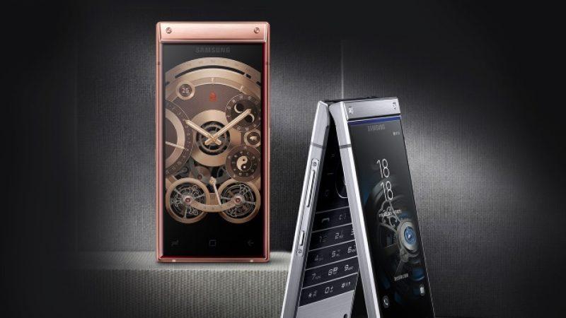 W2019 : Samsung annonce un smartphone de luxe à clapet doté de deux écrans AMOLED