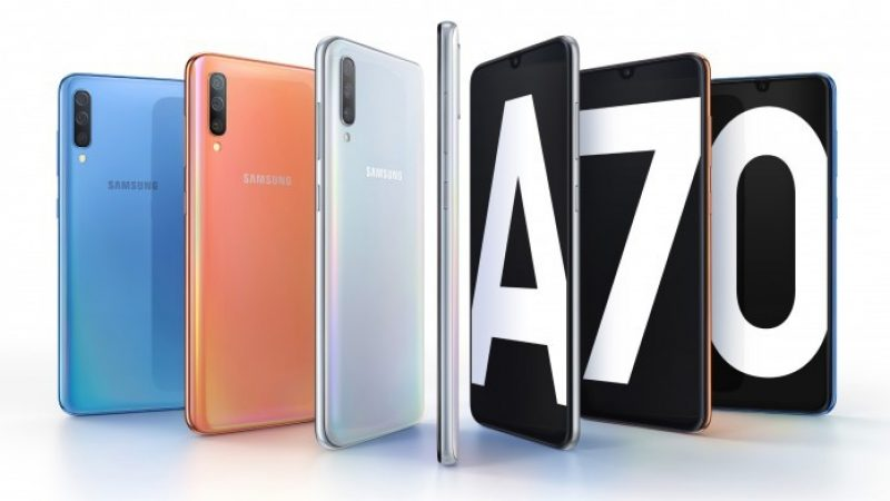 Samsung Galaxy A70 : le smartphone grand format désormais disponible en France