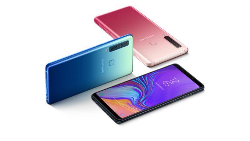 Samsung Galaxy A9 : le smartphone aux quatre capteurs photo est officialisé et débarquera en France en novembre