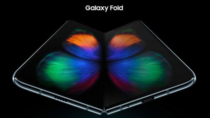 Galaxy Fold : la sortie du smartphone pliable de Samsung repoussée
