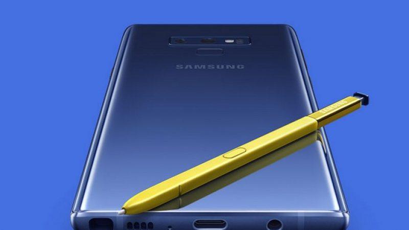 Mise à jour Android Pie chez Samsung : au tour du Galaxy Note9