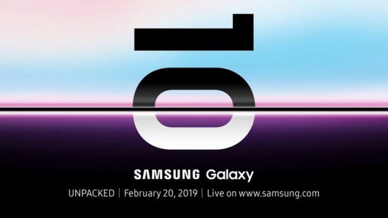 Samsung Galaxy S10 : date de présentation officielle et résumé des attentes