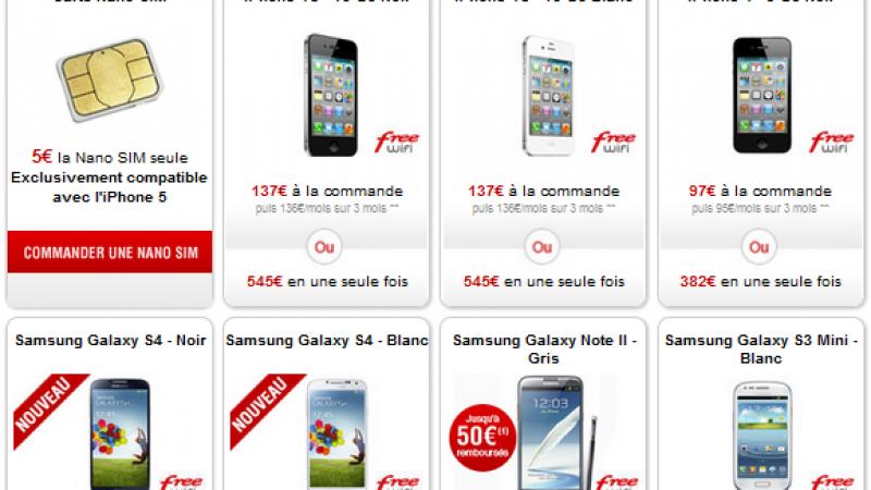 Free Mobile: la Samsung Galaxy S3 Mini-Blanc à son tour indisponible