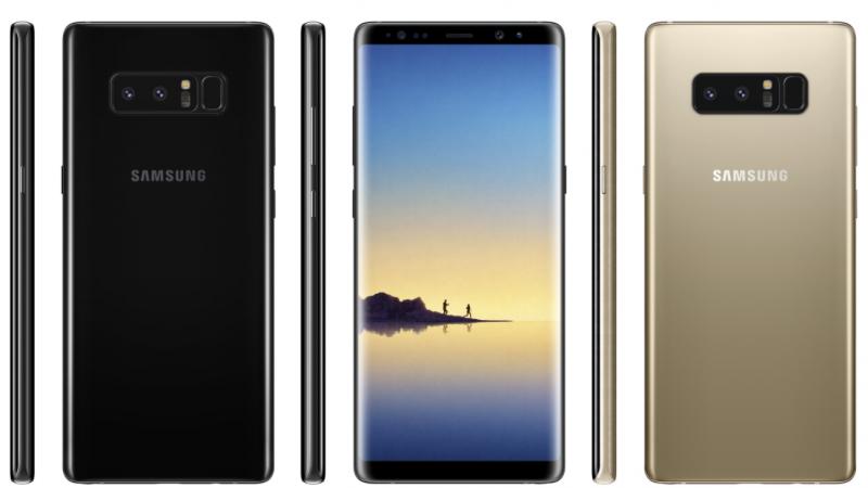 Des images officielles du Samsung Galaxy Note 8 fuitent avant sa présentation
