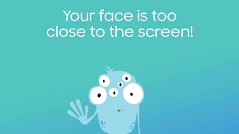 Samsung protège les yeux de vos enfants avec une application