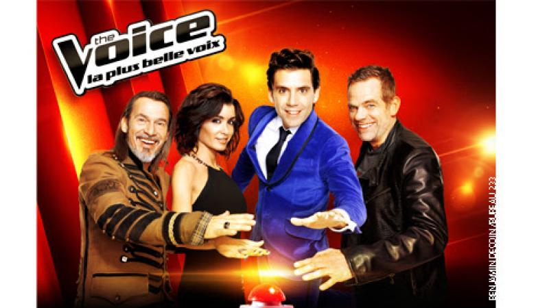 The Voice : Carton d'audience et record pour le lancement avec 9,8 millions de téléspectateurs