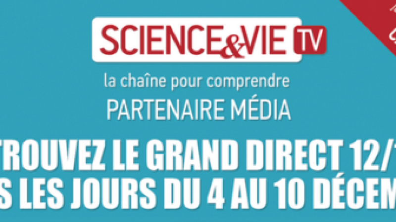 Science & Vie TV offerte sur Freebox : c'est parti !