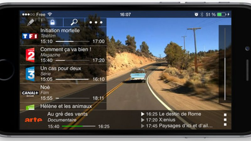 Une nouvelle version de Box'n TV Mini est disponible sur iPhone
