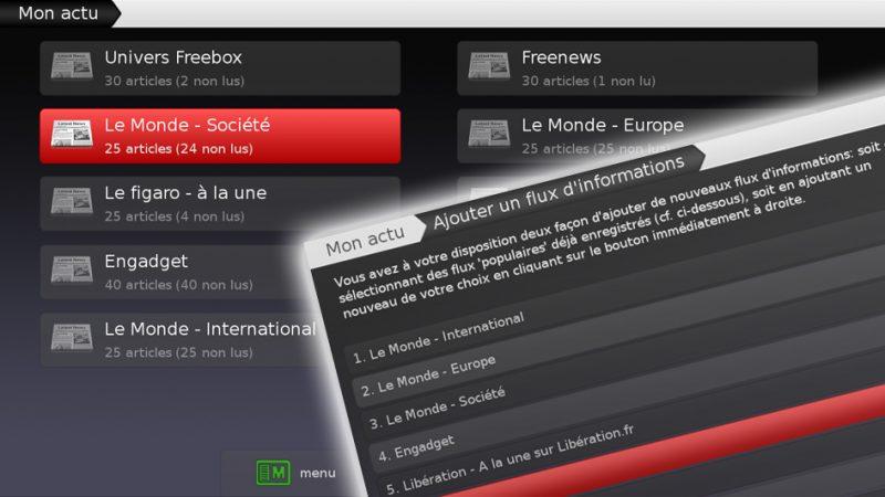 Lancement de la première application sur la Freebox Révolution