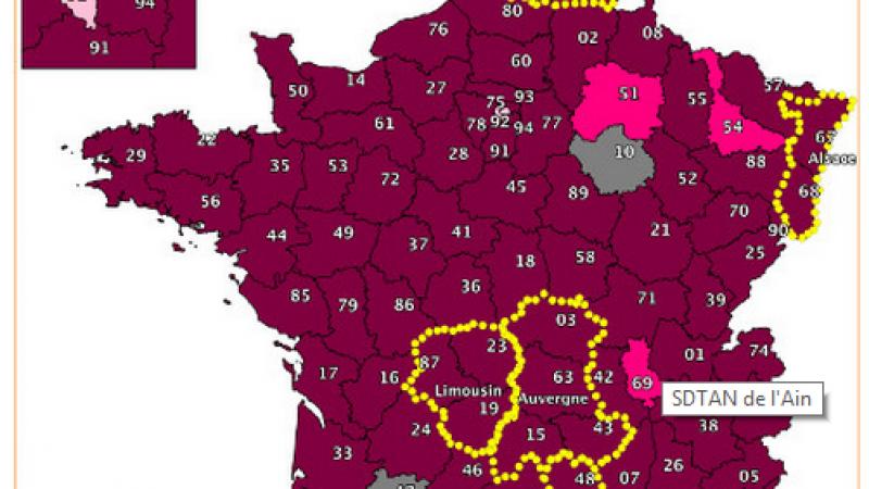 Le projet de redécoupage régional plombe le déploiement du très haut débit en France