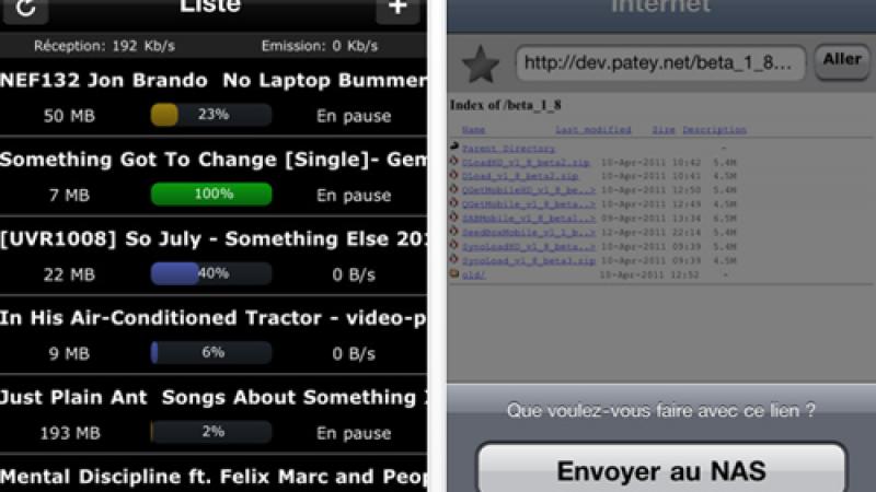 Seedbox Mobile : Mise à jour et gratuité sur Iphone