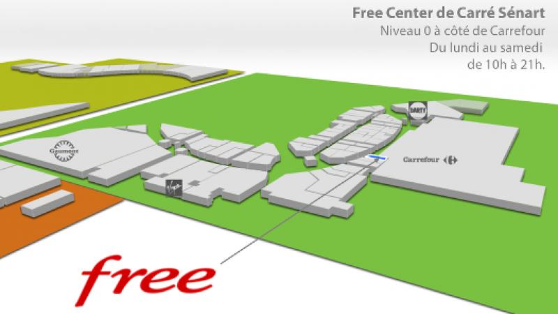 Ouverture demain du premier Free Center de Seine et Marne