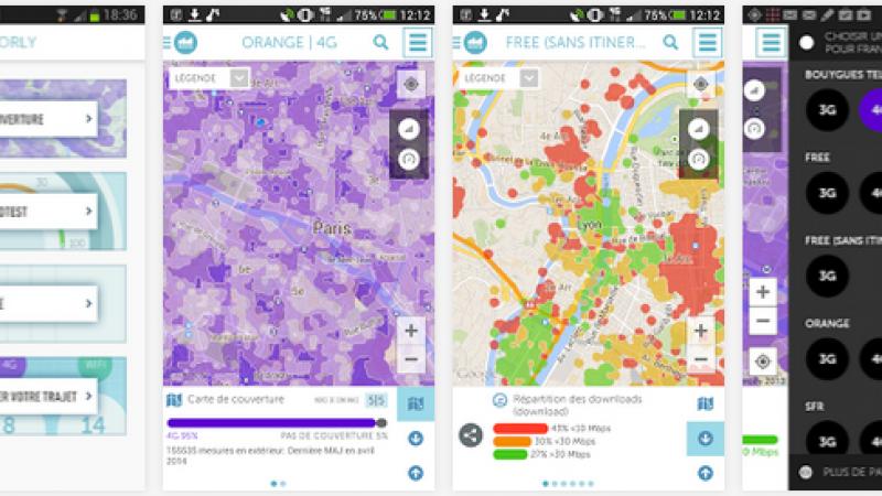 Après le réseau Free Wifi, Sensorly s'apprête à cartographier le réseau Free Mobile