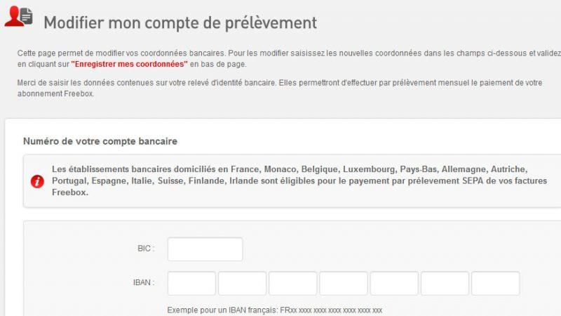 Free ajoute 11 nouveaux pays pour faire vos prélèvements Freebox