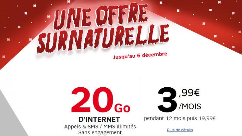 RED réplique face à la vente privée de Free Mobile et propose à son tour un forfait à 3.99€/mois