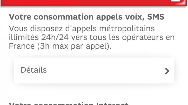 SFR Mon Compte s'adapte aux tablettes, iPad, iPod touch et iPhone