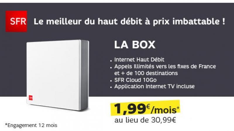 SFR s'affiche sur Showroomprivee avec deux nouvelles promos Box ADSL