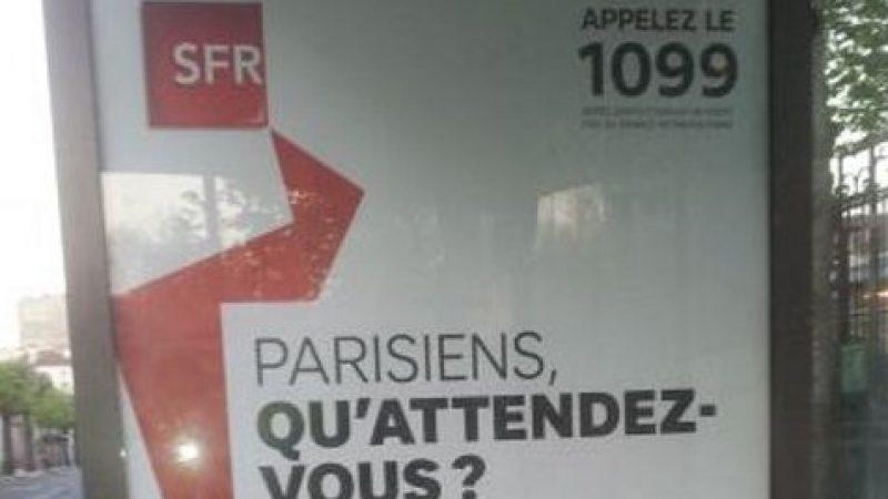 SFR : une pub et des tarifs agressifs pour la fibre optique