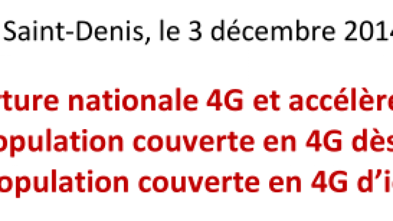 SFR revoit à la baisse ses objectifs de couverture 4G pour 2015