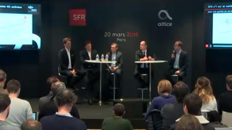 SFR détaille le prix de son option RMC Sport pour les abonnés de Free, Orange et Bouygues Telecom
