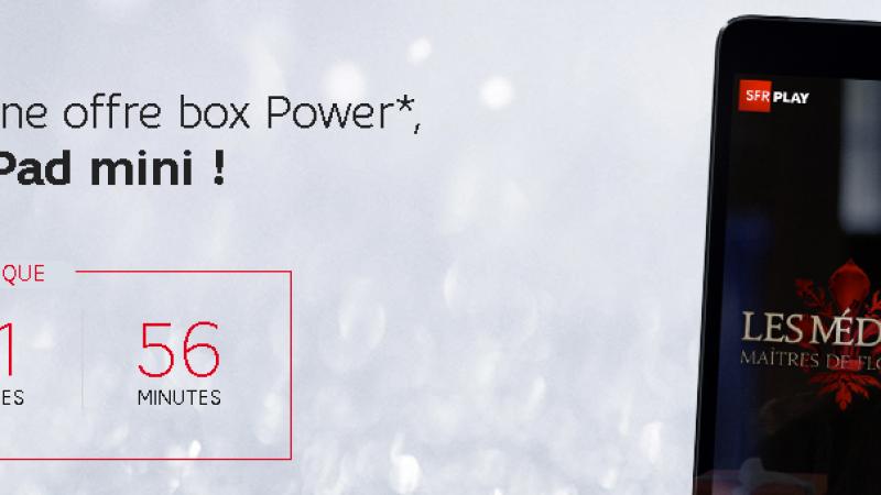 Pour Noël, SFR offre un iPad mini pour un  nouvel abonnement box, mais sous conditions