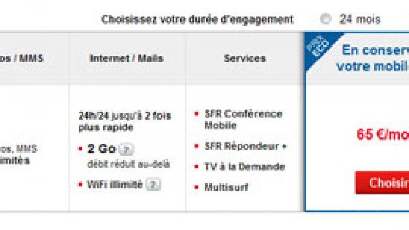"""SFR ne s'aligne pas sur Free Mobile mais lance de nouvelles offres """"spéciales"""""""