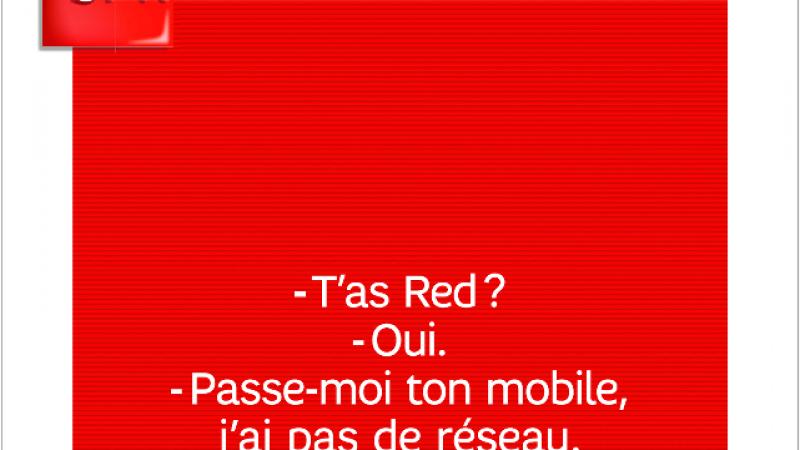 Nouvelle pub SFR RED : « J'ai pas de réseau » avec Free Mobile ?