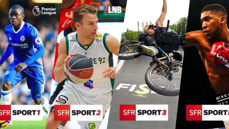Le nouveau nom des chaînes SFR Sport, pour faciliter la distribution chez les autres opérateurs