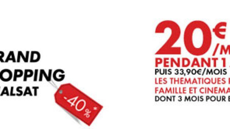 Canalsat et Canal+ soldent leurs abonnements à -40% via Free