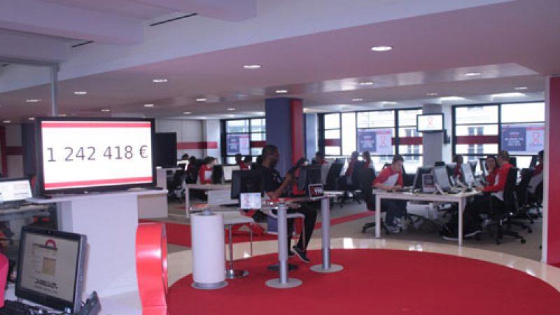 Free s'engage pour le Sidaction ce week end, France Télévisions y installera son studio