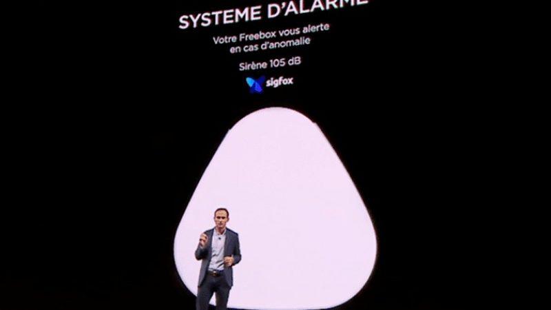 Système d'alarme intégré à la Freebox Delta : Sigfox se félicite que Free ait choisi sa technologie