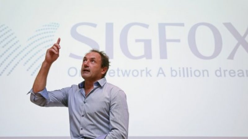 Sigfox voit grand et vise le milliard d'objets connectés dans 4 ans