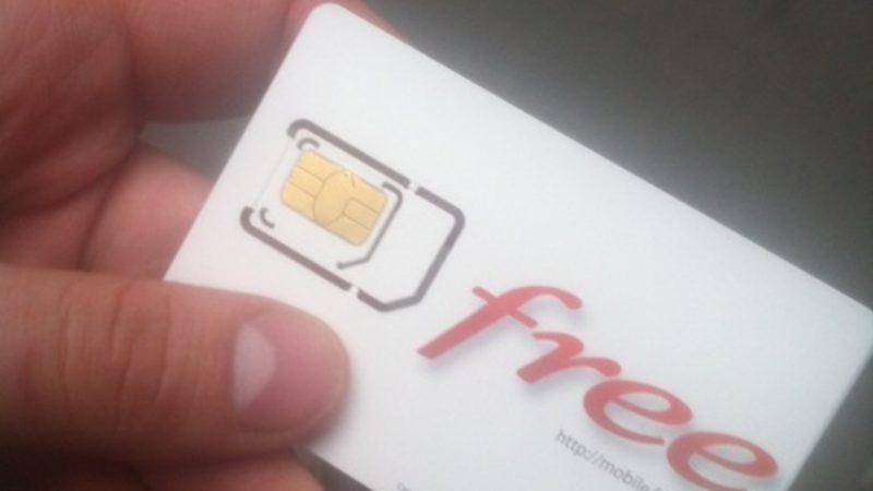 [Clin d'oeil] Les employés ont leur carte SIM Free Mobile mais ne peuvent pas encore l'utiliser