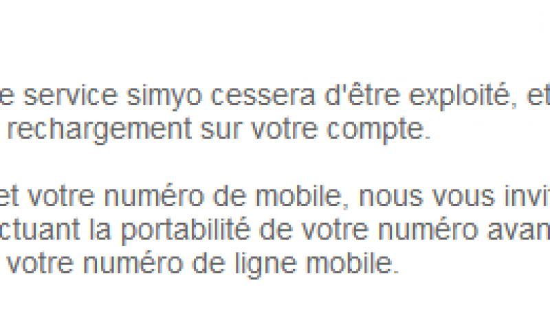 Bouygues Télécom met fin à la marque Simyo